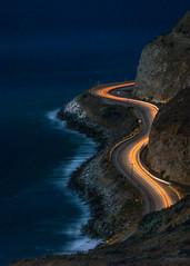 Pacific Coast Highway (Eric Zumstein) Tags: pch longexposure malibu california unitedstates us night ocean seascape bestcapturesaoi elitegalleryaoi aoi