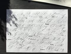 IMG_0026 (xelo garrigs) Tags: calligraphy copperplate caligrafa inglesa calligraphie calligrafia fotosenstreaming xelogarrigs