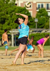 2016-06-17 Coed Doubles (59) (cmfgu) Tags: game net beach sports court md sand outdoor maryland baltimore volleyball coed athlete league innerharbor doubles twos bbv 2s rashfield