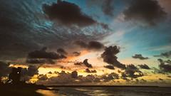 Fortaleza (andr3ms) Tags: sunset sea brazil sky praia beach nature brasil skyline landscape mar nokia natureza paisagem prdosol fortaleza microsoft 930 lumia