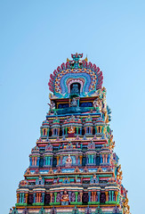 Mailam Temple Tower (Ivon Murugesan) Tags: india architecture spiritual hindu chennai madurai tamil tamilnadu pondicherry hindutemple mahabalipuram tirupati mamallapuram trichy srirangam tanjore templetower thirukazhukundram puducherry hindutempletower templetowercollection