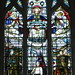 Stained glass, All Saints' Church, Marlow