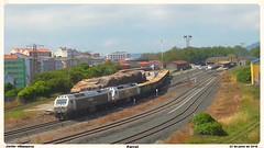 Maniobras Renfe Mercancas (javivillanuevarico) Tags: trenes ferrol ferrocarril renfe 333388 333393