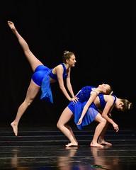 Dazzling Trio (R.A. Killmer) Tags: blue girls cute dance stage performance teens dancer graceful skill danceworkshopbyshari