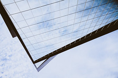 Looking Up is Down (Icedavis) Tags: minnesota vikings stadium usbs us bank construction downtown minneapolis mn national football league nfc north glass reflection windows building architecture abstract cmwd cmwdblue