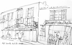 Port Joinville, Ile d'Yeu (Croctoo) Tags: boutique yeu port crayon croquis croctoofr croctoo poissonnerie
