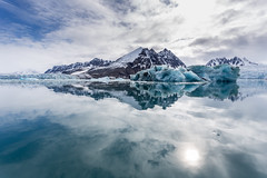 Arctic Reflections in Monacobreen 2016 Lauri Novak Photography (LauriNovakPhotography) Tags: travel glacier arctic spitsbergen icebergs oneocean monacobreen