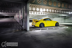 John Lei's 350Z (Danh Phan) Tags: yellow houston 350z maydaygarage