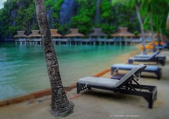 el nido miniloc resort in the philippines (Rex Montalban) Tags: philippines resort hdr elnido palawan tiltshift miniloc westernvisayas rexmontalbanphotography