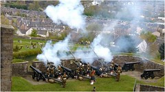21 Gun Salute1 (lairig4) Tags: castle army scotland stirling military salute historic artillery cannons otc queensbirthday 21gunsalute cityofstirling