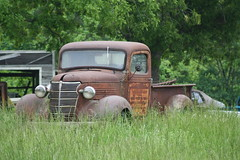Rusty Salvage Chevrolet (dbro1206) Tags: chevrolet abandoned truck rust rusty chevy missouri weathered resting salvageyard