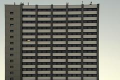 Last Man Alive (österreich_ungern) Tags: light tower last germany concrete deutschland grey one flat hamburg alive beton tristesse hochhaus