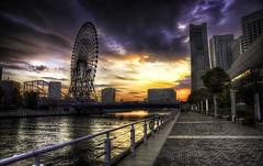 Minato Mirai Sunset