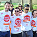 Tom, Ellis, Greg Burns, Romeo Dunn, Kara Tointon Sainsbury's Sport Relief Mile 2012 - London