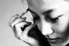 makeup (orz19871107) Tags: people blackandwhite bw face canon eos 50mm 50mm18 canonef50mmf18ii 60d canon60d artlegacy canoneos60d