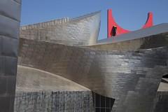 Guggenheim , Bilbao (dirk huijssoon) Tags: architecture spain raw gehry bilbao espana guggenheim espagne modernarchitecture spanje northernspain contemporaryarchitecture museumbilbao longdistancefootpath