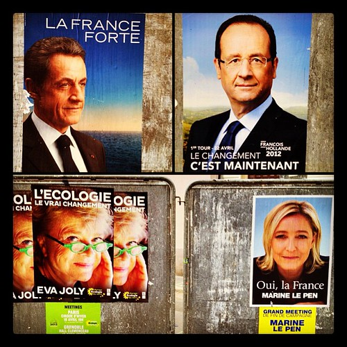 Election time in France