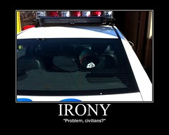Motivational Poster - Troll Face (SpottingWithTom) Tags: b face car poster cool police nypd problem cop irony troll ironic officer 4chan motivational demotivational civilians trollface coolface