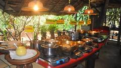 Buffet Lunch, Wang Pho Restaurant (David McKelvey) Tags: thailand restaurant 2012 wangpho
