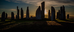 Shadowland (Boyd Hunt) Tags: uk travel sunset sky monument canon ancient shadows stones ruin lewis callanish stonecircle outerhebrides