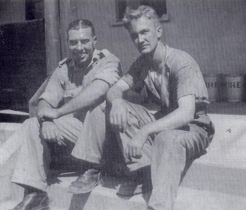 Robert Meek &  friend,  1943