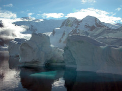 "Icebergs and mountains on the Antarctic Peninsula • <a style=""font-size:0.8em;"" href=""http://www.flickr.com/photos/16564562@N02/7163770900/"" target=""_blank"">View on Flickr</a>"