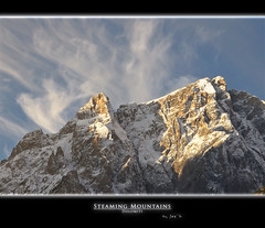 Steaming Mountain (joe00064) Tags: mountain moso moos dolomiti dolomiten sesto pusteria sexten bestcapturesaoi joe00064 mygearandme mygearandmepremium mygearandmebronze mygearandmesilver mygearandmegold mygearandmeplatinum mygearandmediamond