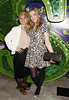 Toni Warne and Becky Hill 'Shrek The Musical' first anniversary performance held at Theatre Royal - Inside London, England