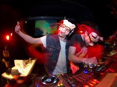 """Fed up with """"made you look"""" (fedeskier) Tags: music house set torino fun disco pig casa dj sam mask saturday cap musica electro vic electronica turin barocco divertimento sabato 10100 mystifiers"""