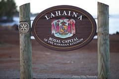 Lahaina (anthonymayphotography) Tags: hawaii maui hi lahaina citysigns welcomesigns hi30 honoapiilanihighway stateroute30 royalcapital hawaiistateroutes