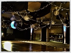 Moonlit Theme (Celadon Events) Tags: lighting lights twinkle event decor accent props ceilingtreatment