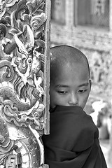 Bhutan bw (anthonyasael) Tags: blue boy red portrait art wheel vertical writing children asian religious temple gold golden kid education asia child dragon dress bhutan bright artistic stupa buddhist indian traditional faith prayer religion wheels culture vivid belief monk buddhism shy age believe portraiture wise devotion learning anthony and local dzong write alphabet wisdom tradition custom usage ages learn cultural bhutanese devoted ethnicity druk decorated initiation bhuddist writings subcontinent experienced initiate bhuddism thuder asael initiating