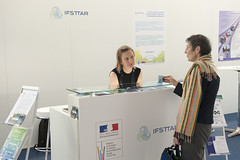 IFSTTAR display at the French Ministry stand