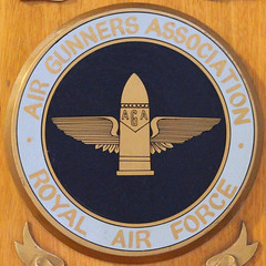 AIR GUNNERS ASSOCIATION - ROYAL AIR FORCE (Leo Reynolds) Tags: canon eos 7d squaredcircle f40 80mm militarybadge iso6400 004sec hpexif sqyork xleol30x sqset078