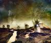 Cervantes' dream (kypt@nuy) Tags: cervantes quijote lamancha castilla spain molinos mill paisaje landscape textura texture photomaipualtion fotomontaje photoshop creative helenamanso kyptnuy consuegra goldenawardlostcontperdidos magicunicornverybest simplysuperb sailsevenseas castillalamancha