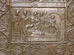 Drzwi Gnienieskie (magro_kr) Tags: door sculpture detail church temple gate cathedral poland polska gniezno detal katedra kosciol koci rzeba drzwi brama wielkopolska rzezba swiatynia szczeg witynia wielkopolskie szczegol