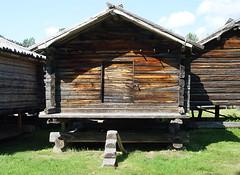 Arvidsjaur - Lappstaden. Härbre. Stabbur. Sweden. Sverige (saamiblog) Tags: log cabin sweden timber sverige arvidsjaur laftet trebygning trehytte