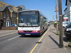 On it's way through Railway Street IMG_1371 (tomylees) Tags: bus may monday 70 essex 2012 chelmsford braintree railwaystreet