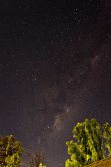Milky Way streaking through Scorpio (Explored 30 May 2012) (Indigo Skies Photography) Tags: light sky colour night stars photography flickr australia victoria scorpio nighttime colourful milkyway echuca southernsky nikond90 raychristy