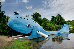 Blue Whale (photographyguy) Tags: oklahoma catoosa bluewhale swimminghole abandoned route66