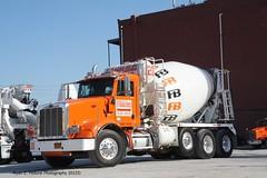 concrete cement mixer peterbilt cementtruck readymix concretetruck mixertruck truckny trucknyc