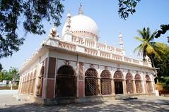 Dargah near Nampally (Rajesh_India) Tags: india prayer mosque hyderabad dargah nampally