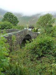 Grange Bridge Borrowdale Cumbria (woodytyke) Tags: road county uk bridge england sky white mist mountain west building tree green english tourism ice water rock fog stone river walking landscape photography photo flooding scenery rocks stream track arch village view riverside flood tea beck britain hiking path district room derwent united hill great north lakes foggy peak kingdom hills national age cumbria fells trust british visitor gill lakeland isles grange cumberland borrowdale woodytyke
