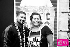John Tui + Ema Tavola (Colour Me Fiji) Tags: otara manukauinstituteoftechnology southauckland freshgalleryotara pacificarts 2012southaucklandpacificartssummit humpdayarttalk