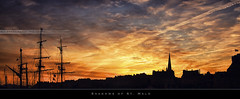 Shadows of St. Malo (bgspix) Tags: city sunset france canon skyscape interesting brittany shadows bretagne 35 saintmalo stmalo remparts ombres bulwarks canonef24105f4isl canoneos60d bgspix