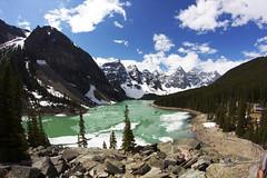 Moraine Lake (seangarrity) Tags: lake mountains water beautiful landscape rockies teal canadian louise alberta banff moraine