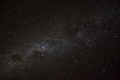 First approach to the dark sky (Silver Nicte) Tags: cloud black night canon way star noche negro via galaxy estrellas universe milky estrella nube milkyway universo lactea vialactea canont2i