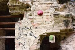 Intra Larue 683 (intra.larue) Tags: street urban art breast arte pit toledo urbano teta sein moulding espagne espagna urbain pecho intra espanya formen seno brust moulage tolede