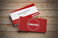 Carto de Visita - Impactus (dellwendel) Tags: blanco publicidad mockups freepics pepoalcal estudiomarketing