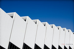 Factory (Toni Cmara) Tags: blue sky white black building architecture modern nikon industrial factory avila d3100 cesvimap
